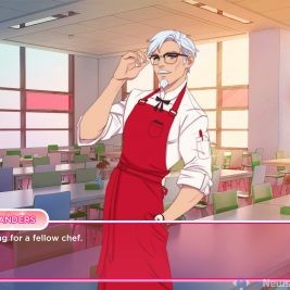 KFC Game I Love You, Colonel Sanders! A Finger Lickin' Good Dating Simulator